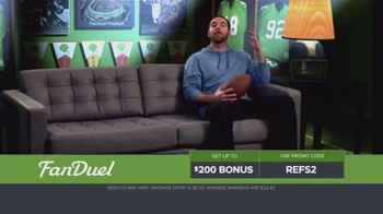 FanDuel Fantasy Football One-Week Leagues TV Spot, 'Get Paid for Knowledge' - Thumbnail 5