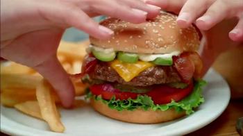 Denny's Bacon Avocado Cheeseburger TV Spot, 'Alligator Pear' - Thumbnail 3