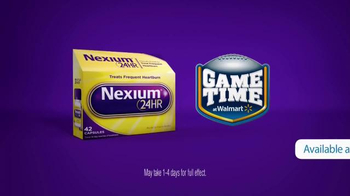 Nexium 24HR TV Spot, 'Walmart: Make Your Game Time Great ' - Thumbnail 4