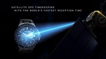 Citizen Satellite Wave - World Time GPS Watch TV Spot, 'Worldwide' - Thumbnail 3
