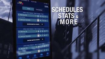 2015 US Open Tennis Championship App TV Spot, 'Wherever You Are' - Thumbnail 4