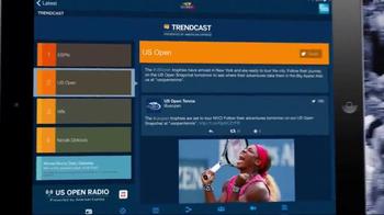 2015 US Open Tennis Championship App TV Spot, 'Wherever You Are' - Thumbnail 5