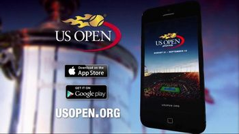 2015 US Open Tennis Championship App TV Spot, 'Wherever You Are'