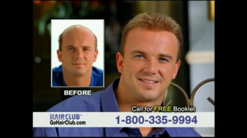 Hair Club TV Spot, \'Don\'t Tolerate Hair Loss\'