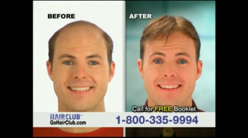 Hair Club TV Spot, 'Don't Tolerate Hair Loss' - Thumbnail 5