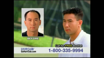 Hair Club TV Spot, 'Don't Tolerate Hair Loss' - Thumbnail 8