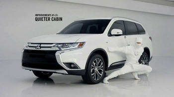 2016 Mitsubishi Outlander TV Spot, 'Quiet'