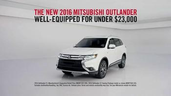 2016 Mitsubishi Outlander TV Spot, 'Quiet' - Thumbnail 4