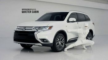 2016 Mitsubishi Outlander TV Spot, \'Quiet\'