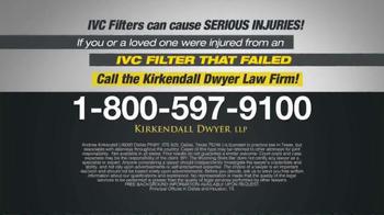 Kirkendall Dwyer LLP TV Spot, 'IVC Filters' - Thumbnail 6