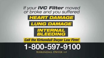 Kirkendall Dwyer LLP TV Spot, 'IVC Filters' - Thumbnail 3