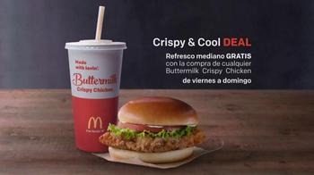 McDonald's Crispy & Cool Deal TV Spot, 'Oferta buena' [Spanish] - Thumbnail 3