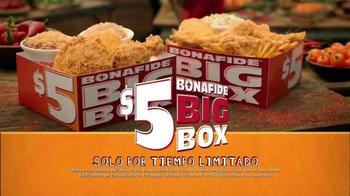Popeyes $5 Bonafide Big Box TV Spot, 'Un carruaje y el burro' [Spanish] - Thumbnail 10