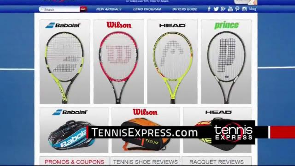 Tennis Express Tv Commercial New Racquets Ispot Tv