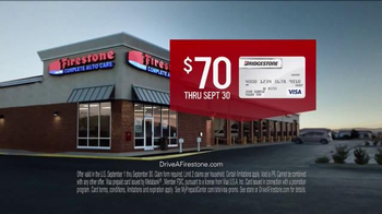 Firestone Complete Auto Care TV Spot, 'Can't Mass Repair: Prepaid Visa' - Thumbnail 3