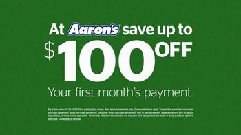 Aaron's Big Score Savings Event TV Spot, 'TV' - Thumbnail 6