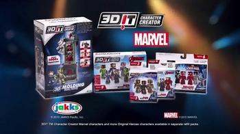 3DIT Character Creator Mold Maker TV Spot, 'Marvel Avengers' - Thumbnail 6
