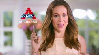 Atkins TV Spot, 'Working Parent' Featuring Alyssa Milano - Thumbnail 5