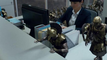 Game of War: Fire Age TV Spot, 'Office Army' - Thumbnail 6