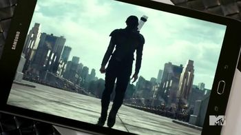 Samsung Galaxy Tab S2 TV Spot, 'MTV Network: Mockingjay Part 2' - 11 commercial airings