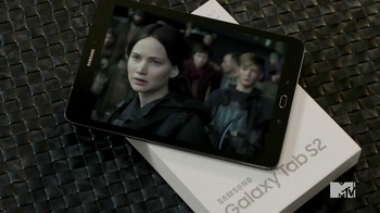 Samsung Galaxy Tab S2 TV Spot, 'MTV Network: Mockingjay Part 2' - Thumbnail 4