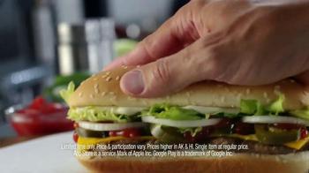 Burger King Extra Long Jalapeño Cheeseburger TV Spot, 'Jalapeños, Please' - Thumbnail 6