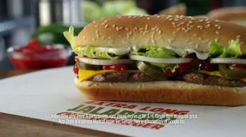Burger King Extra Long Jalapeño Cheeseburger TV Spot, 'Jalapeños, Please' - Thumbnail 7