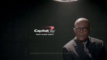 Capital One Quicksilver Card TV Spot, 'Interrogation' Ft. Samuel L. Jackson - Thumbnail 5