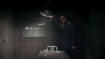 Capital One Quicksilver Card TV Spot, 'Interrogation' Ft. Samuel L. Jackson - Thumbnail 3
