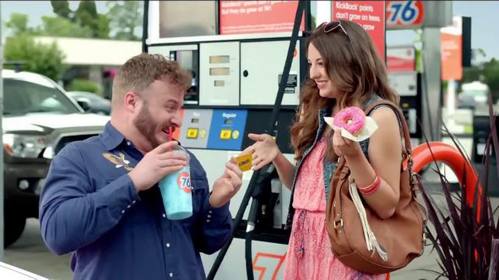 76 Gas Station KickBack Points Card TV Commercial, 'Brain Freeze' - iSpot.tv