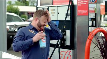 76 Gas Station KickBack Points Card TV Spot, 'Brain Freeze' - Thumbnail 2