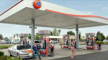 76 Gas Station KickBack Points Card TV Spot, 'Brain Freeze' - Thumbnail 7