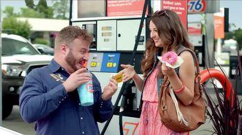 76 Gas Station KickBack Points Card TV Spot, 'Brain Freeze'