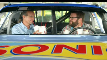 Sonic Drive-In TV Spot, 'Can't Stop Shaking' Featuring Rutledge Wood - 2 commercial airings
