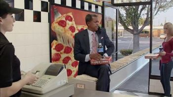 Little Caesars Pizza Hot-N-Ready Lunch Combo TV Spot, 'File Cabinet Ride'