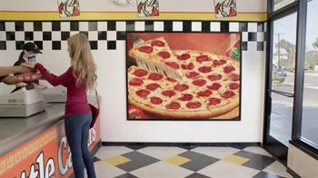 Little Caesars Pizza Hot-N-Ready Lunch Combo TV Spot, 'File Cabinet Ride' - Thumbnail 1