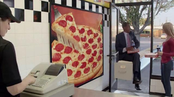 Little Caesars Pizza Hot-N-Ready Lunch Combo TV Spot, 'File Cabinet Ride' - Thumbnail 4