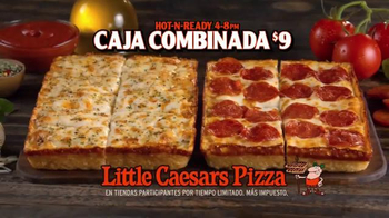 Little Caesars DEEP!DEEP! Dish Pizza TV Spot, 'La contraseña' [Spanish] - Thumbnail 9