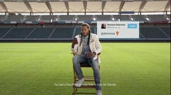 Domino's AnyWare TV Spot, 'Sherman Loves Twitter' Featuring Richard Sherman - Thumbnail 4