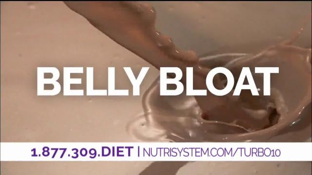 Nutrisystem Turbo10 TV Commercial, 'Belly Bloat' Featuring Marie Osmond