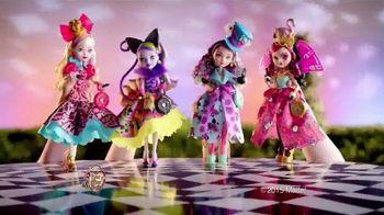 Ever After High Way Too Wonderland TV Spot, 'The Girls'