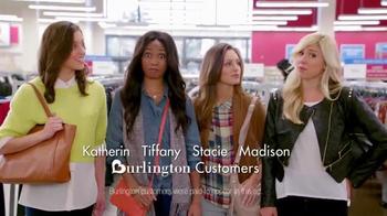 Burlington Coat Factory TV Spot, 'Katherine, Tiffany, Stacie and Madison' - 2197 commercial airings