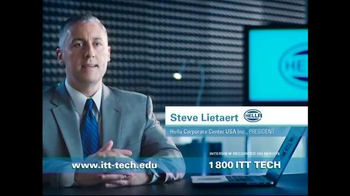 ITT Technical Institute TV Spot, 'Working at Hella'