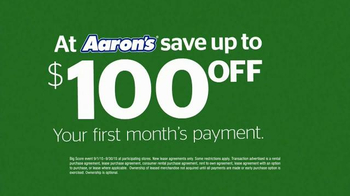 Aaron's Big Score Savings Event TV Spot, 'Fly Away Mattress' - Thumbnail 5