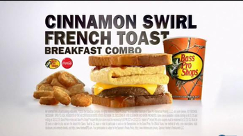 Carl's Jr. French Toast Sandwich TV Spot, 'Sweet Side' Feat. Ronda Rousey - Thumbnail 8