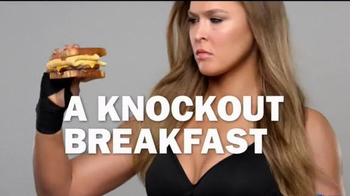 Carl's Jr. French Toast Sandwich TV Spot, 'Sweet Side' Feat. Ronda Rousey - 1154 commercial airings