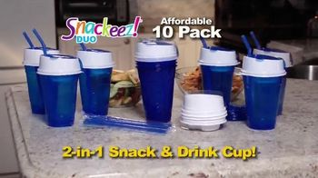 Snackeez Duo TV Spot, 'Drink and Snack' - Thumbnail 3