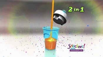 Snackeez Duo TV Spot, 'Drink and Snack' - Thumbnail 4