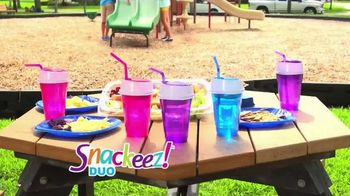 Snackeez Duo TV Spot, 'Drink and Snack'