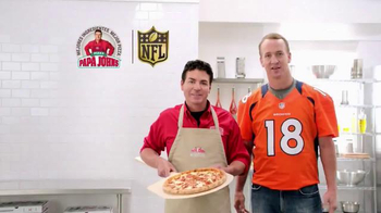 Papa John's Kickoff Special TV Spot, 'NFL' con Peyton Manning [Spanish] - 384 commercial airings